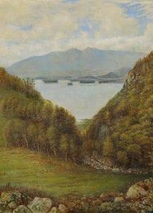 Lake Derwentwater by Thomas Heatherly
