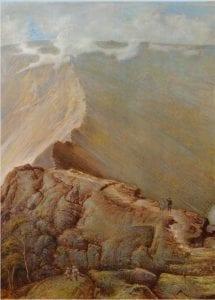 Striding edge by Thomas Heatherly