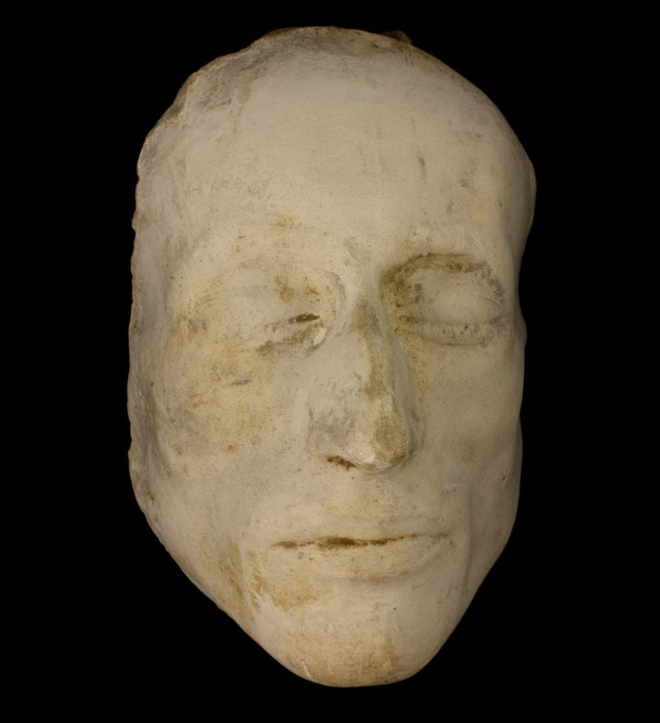Robert Southey's death mask – £35