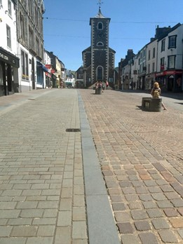 Market square and Moot hall by Chris Wilson