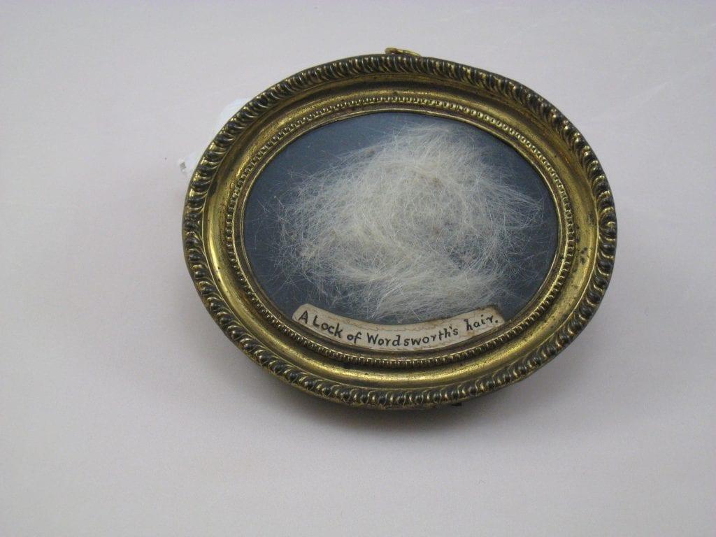 A lock of William Wordsworth's hair – £40