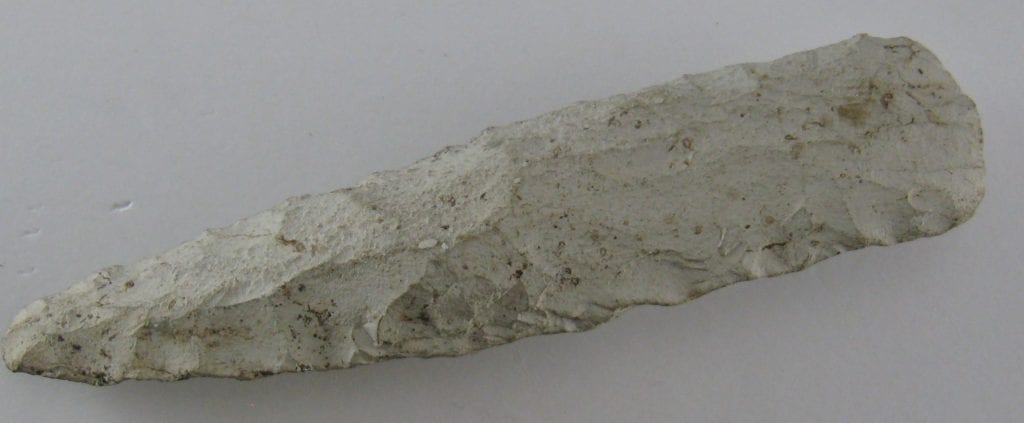 A Langdale Factory stone axe head – £20